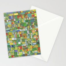 Colorburst Collage Stationery Cards