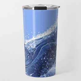 Hump Back Whale Breaching Travel Mug