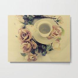 Tea Please... Metal Print