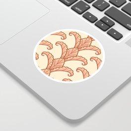 Autumn Leaves Column Pattern Sticker