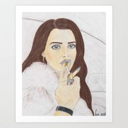 """Lana"" Art Print"
