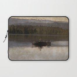 Fishing in Silence Laptop Sleeve