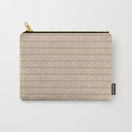 Light Tan Carry-All Pouch