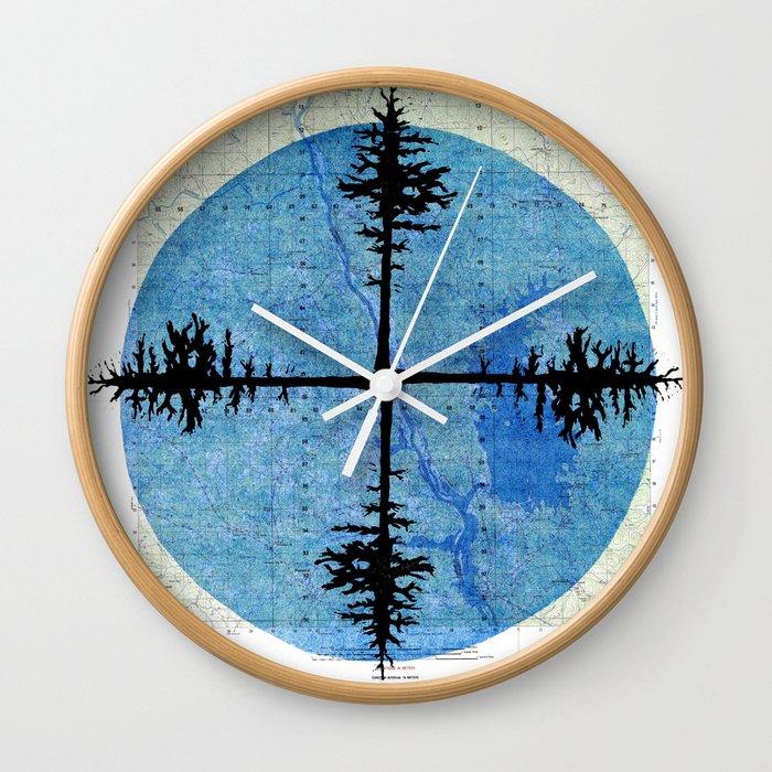 Blair 4-DMA Wall Clock