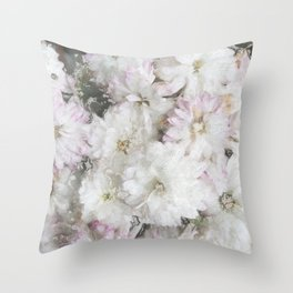 Mother's Day Mums Throw Pillow