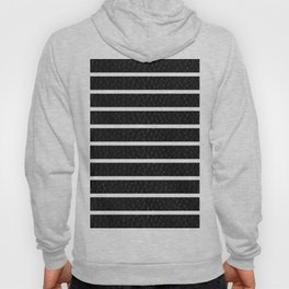 Leather Stripes Hoody