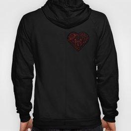 Robotic Heart Hoody