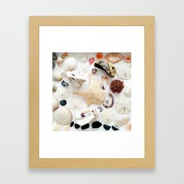 Spikes on Spikes Framed Art Print
