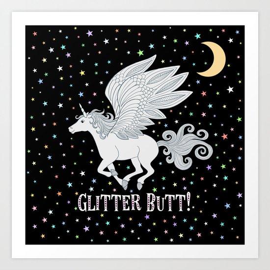 Glitter Butt! by shannonmessenger