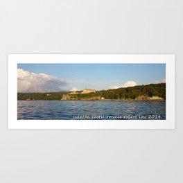 culzean castle ,scotland Art Print