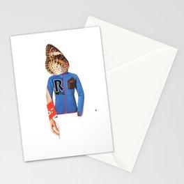 Normal Life · Schmetterlinge im Kopf Stationery Cards