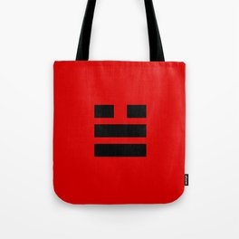 I Ching Yi jing - symbol of 兌 Duì Tote Bag