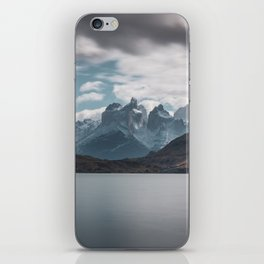 Somewhere over the mountain range iPhone Skin