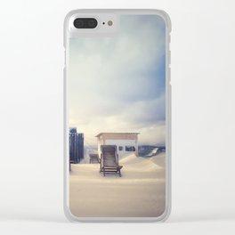 Ski resort 3 Clear iPhone Case