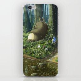 Totoro and Mei iPhone Skin