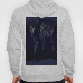 Earth at Night Hoody