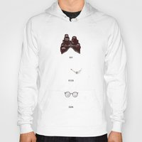 ghostbusters Hoodies featuring Ghostbusters by Duke Dastardly