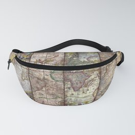 Old Times (World Map) Fanny Pack