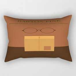 Barton Fink minimalist poster Rectangular Pillow
