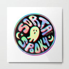Holo Sorta Spooky © Metal Print