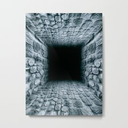 Escape Tunnel Metal Print