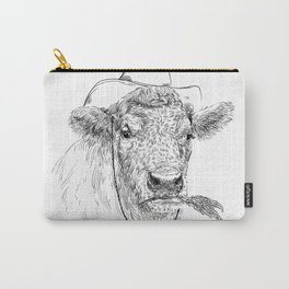 Cowby cow Carry-All Pouch
