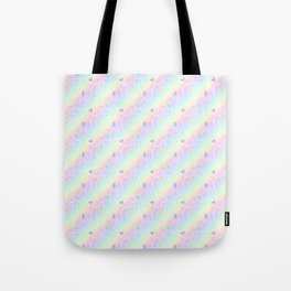 Springtime Butterfly Swirls Tote Bag