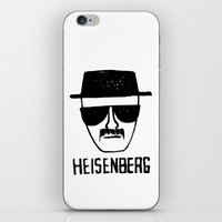 breaking iPhone & iPod Skins featuring Heisenberg - Breaking Bad Sketch by Bright Enough💡