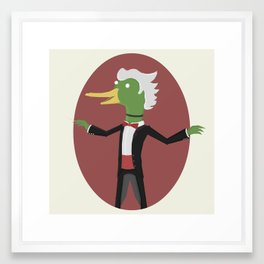 Conducktor! Framed Art Print