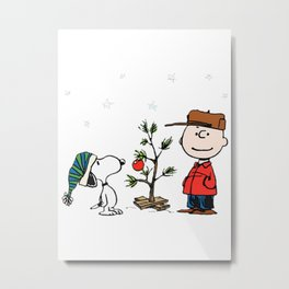 A Charlie Brown Christmas Metal Print
