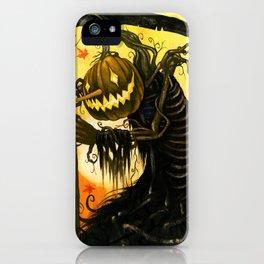 Autumn Harvester iPhone Case