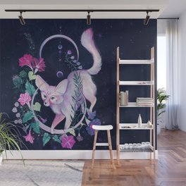 Cosmic Fox Wall Mural