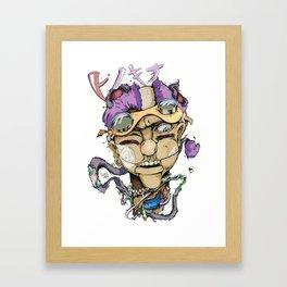 Pinocchio-ピノキオ Framed Art Print