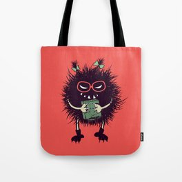 Evil Bug Student Loves To Read Tote Bag