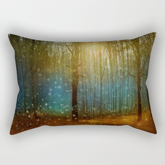 In seed time learn, in harvest teach, in winter enjoy. Rectangular Pillow