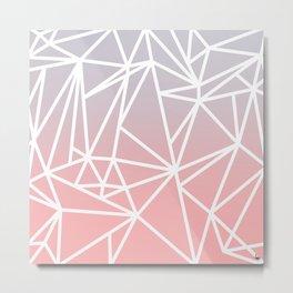 Gradient Mosaic 1 Metal Print