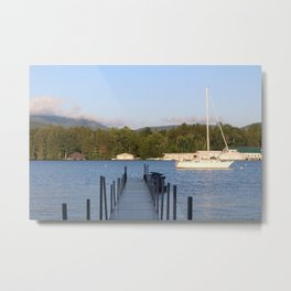 Upstate Lake George Metal Print