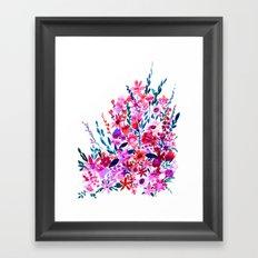Scarlett Floral Framed Art Print