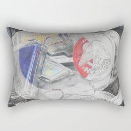 Broken Up Childhood Rectangular Pillow