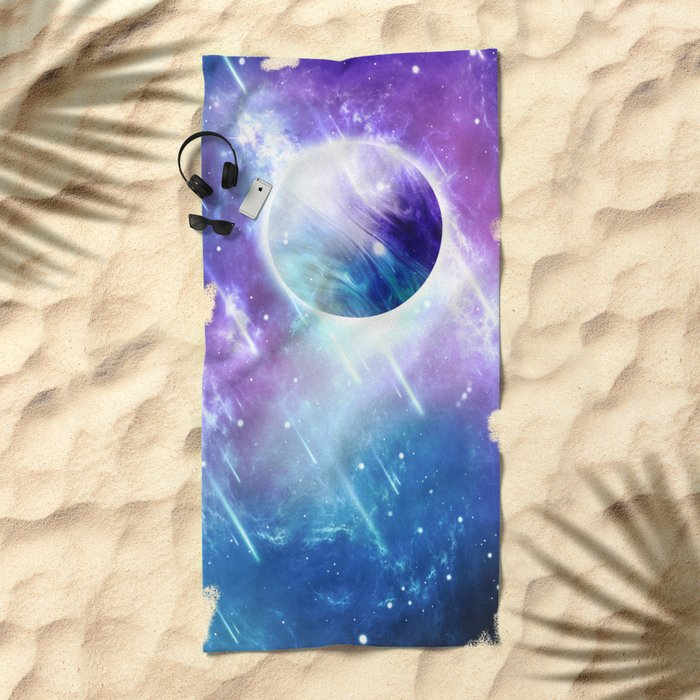 Star Drops Beach Towel