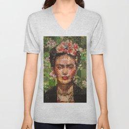Frida Kahlo Unisex V-Neck