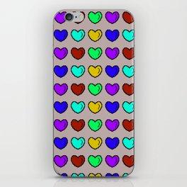 Heart shaped box iPhone Skin