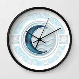 Water Tribe Chief Wall Clock