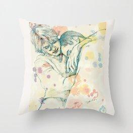 natural connection Throw Pillow