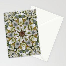 Lacy Serviceberry kaleidoscope - Amelanchier 0033 k5 Stationery Cards