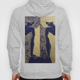 ANTICIPATION IN GOLD. DIPTYCH Hoody