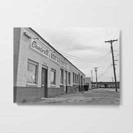 Tacoma auto shop Metal Print