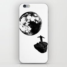 Boy and the Moon iPhone & iPod Skin