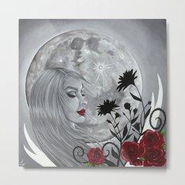 Light Side Of The Moon Metal Print