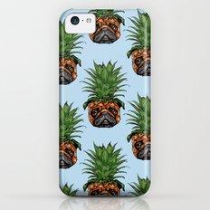 Pineapple Pug iPhone 5c Slim Case